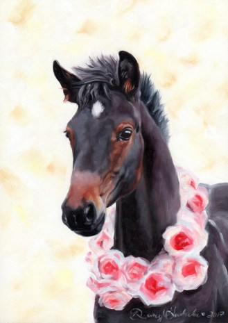 Teagan | Oil Painting by Darcy Goedecke